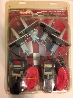 "Erickson 01017 1"" x 10'  2 Ratchet Straps + 4 Toggle Anchors"