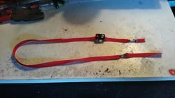 1/6 Scale tie down strap with 3d printed Ratchet + hooks ava