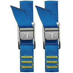 NRS 1-Foot Heavy Duty Boating Ratchet Tie-Down Straps, Iconi