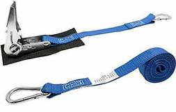 CustomTieDowns 1 Inch Stainless Steel Ratchet Strap, Protect