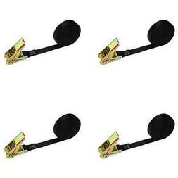 "1"" x 30' Black Endless Ratchet Strap - No hooks - 4 Pack"