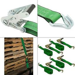 16 ft. x 2 in. x 10,000 lbs. ratchet buckled strap tie-down