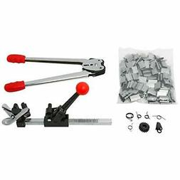 2pc Poly Strapping Banding Tools, Ratchet Action Manual Stra