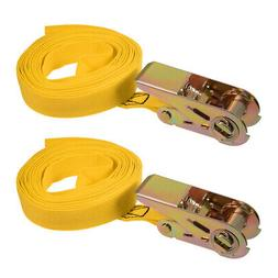 5Mx25mm Ratchet Tie Down Strap Cargo Lashing Straps Up to 25