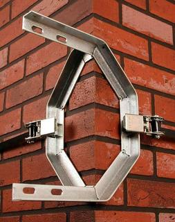 2 CHIMNEY DOUBLE RATCHET MOUNTING BRACKET FOR ANTENNA OR DIS