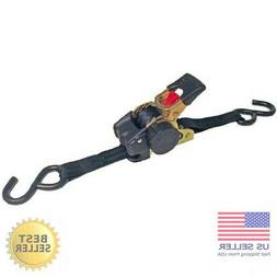 Erickson 34415 Pro Series Black Retractable Ratcheting Tie-D