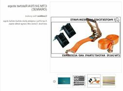 HAND RATCHET STRAP Kit   Orange STRAPS  4 RATCHETS/KIT 1/25