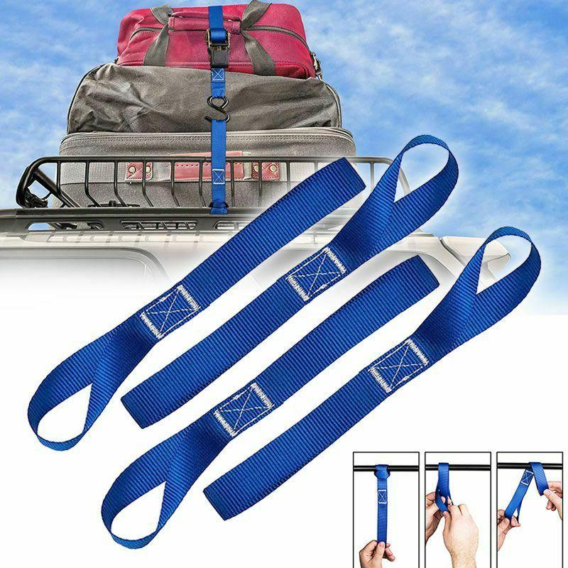 10 pcs soft loop tie down straps