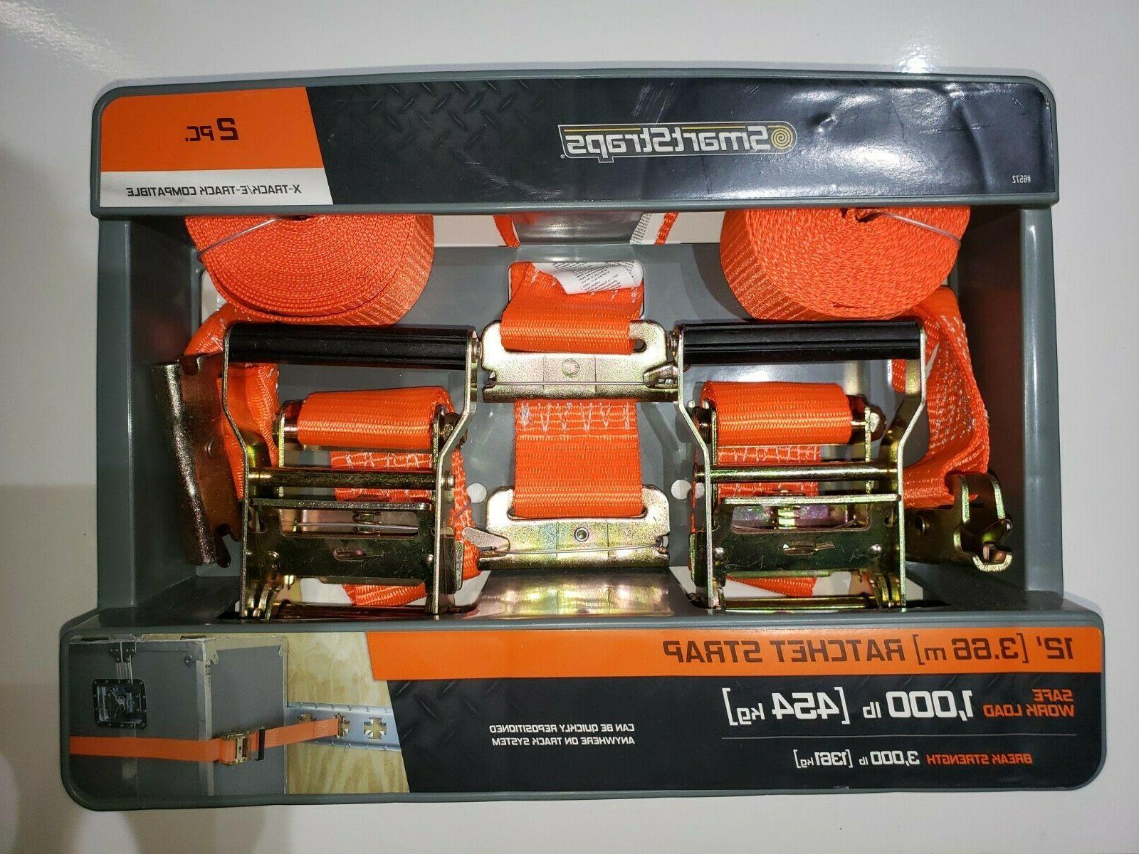 12 x 2 orange ratchet straps 2