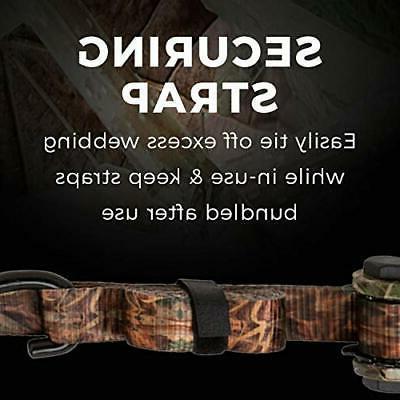 SMARTSTRAPS W 4-Pack 14' Ratchet CamoX Camo Webbi...