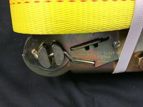 Ancra Ratchet Strap Flat Hooks Brand See pictures