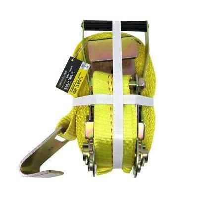 25ft heavy duty nylon ratchet tie down
