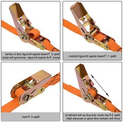 5Mx25mm Tie Strap Lashing 250Kg 2Pcs