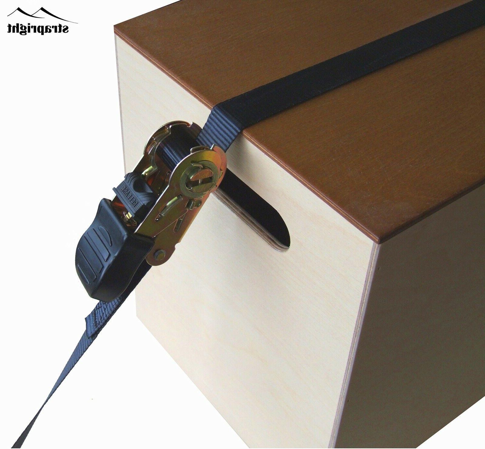 Heavy Adjustable Locking Straps 20Ft