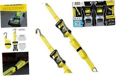 smartstraps 14 foot ratchet straps 2pk 5
