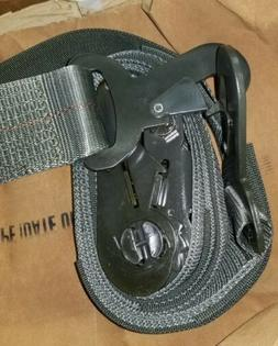 Military Ratchet Strap, Tie Down, Cargo, Aircraft 3 Inch x 1