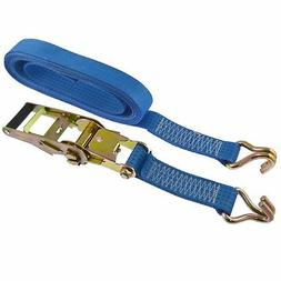 Ratchet Strap Trailer Tie Down 5m Handle Hooks Recovery 2.5