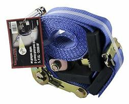"""Ratchet Strap with Roller Idler, 2"""" Wide x 12' Long, 3300 lb"""