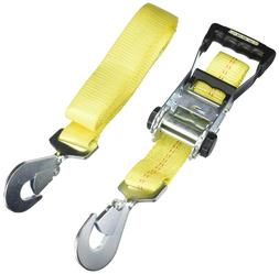 Smart Straps Ratchet 8ft YW RatchetX w Snap Hooks 10000lb Pr