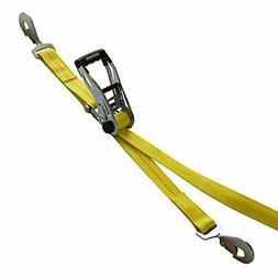 SmartStraps 8-Foot Ratchet Straps with Snap Hooks 10,000 lbs