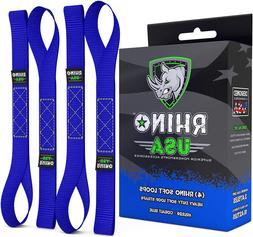 Soft Loops Motorcycle Tie Down Straps Heavy Duty Tie Downs F