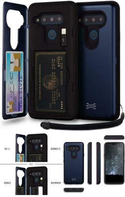 Wallet Case Mirror USB Hidden Credit Card Holder ID Slot Har